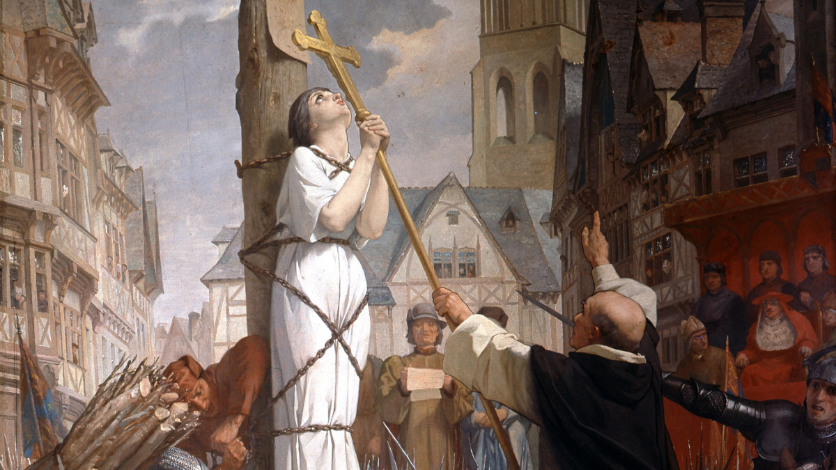 Joan of Arc one of the top 10 French characters
