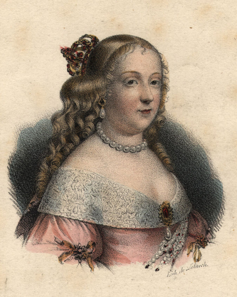 Queen Marie-Therese, Spanish wife of King Louis XIV of France.