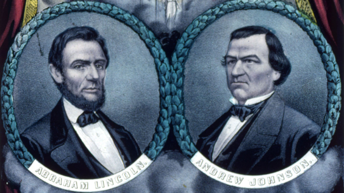 President Abraham Lincoln and Vice President Andrew Johnson