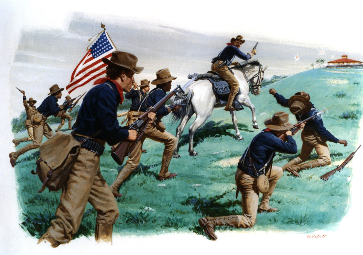 Teddy Roosevelt and the Battle of San Juan Hill, Spanish American War