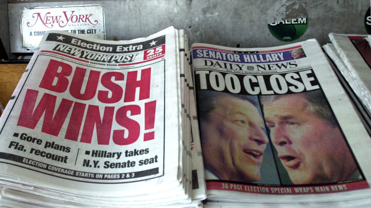 2000 Election, Bush v Gore
