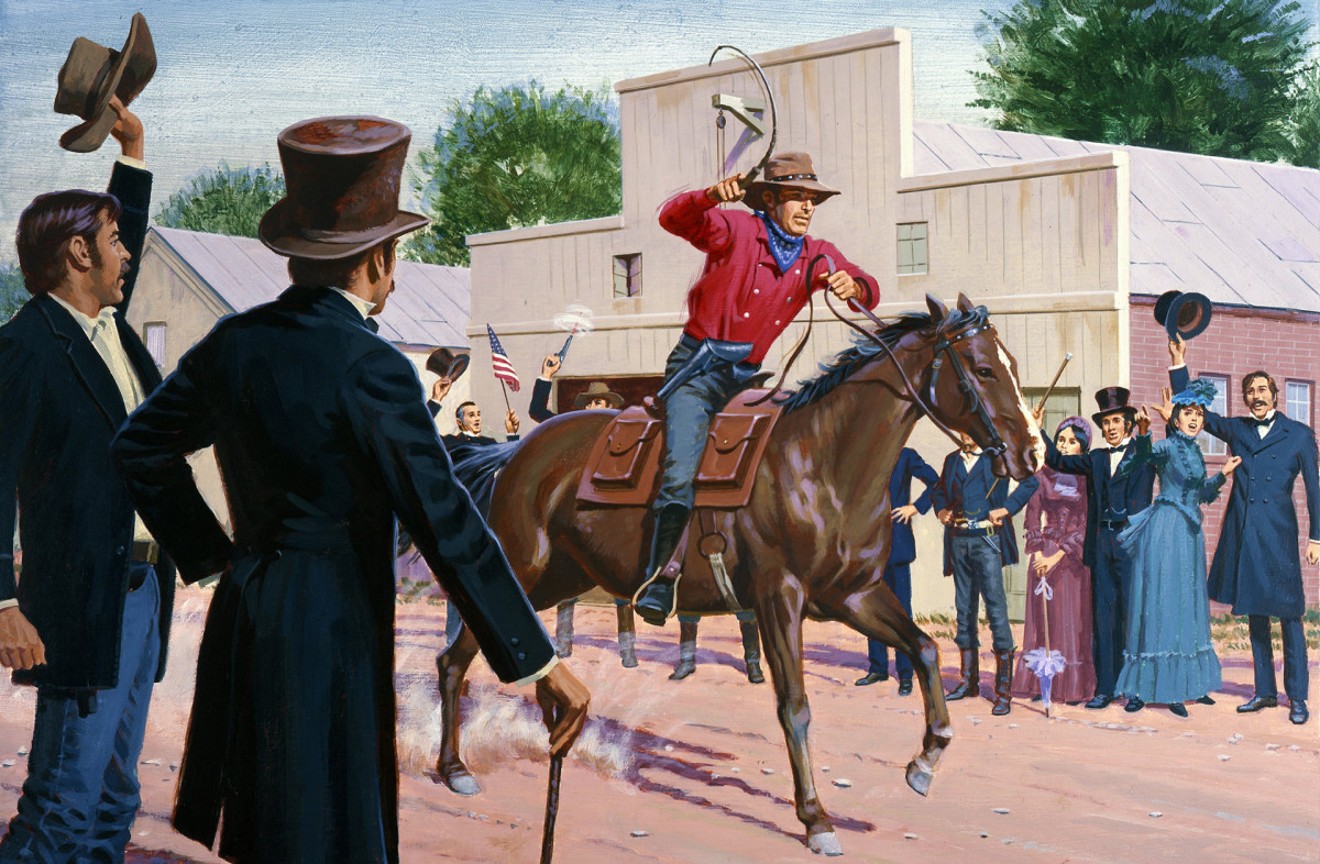 In 1860, the Pony Express began delivering mail from the East to West Coast in a mere 10 days.