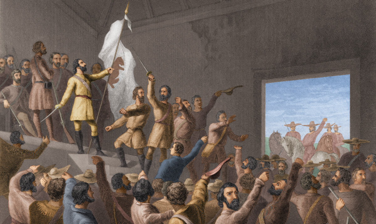 Bear Flag Revolt, California 1846