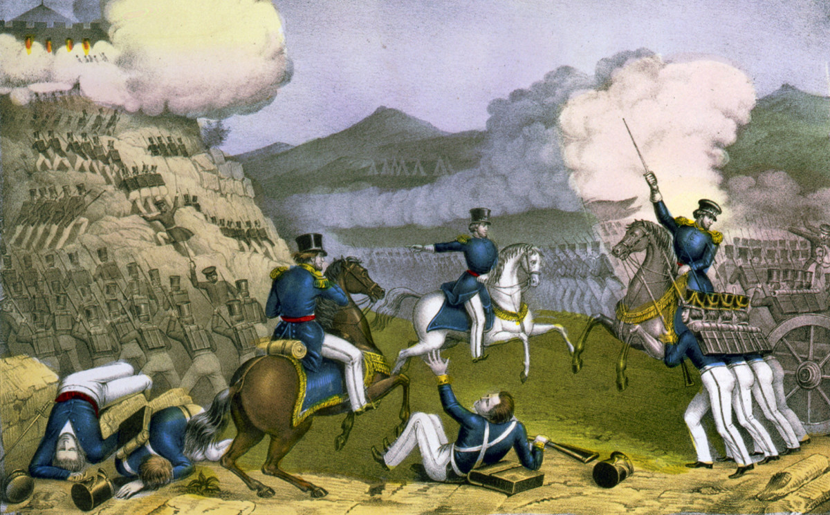 Battle of Monterey, 1846, The Mexican American War