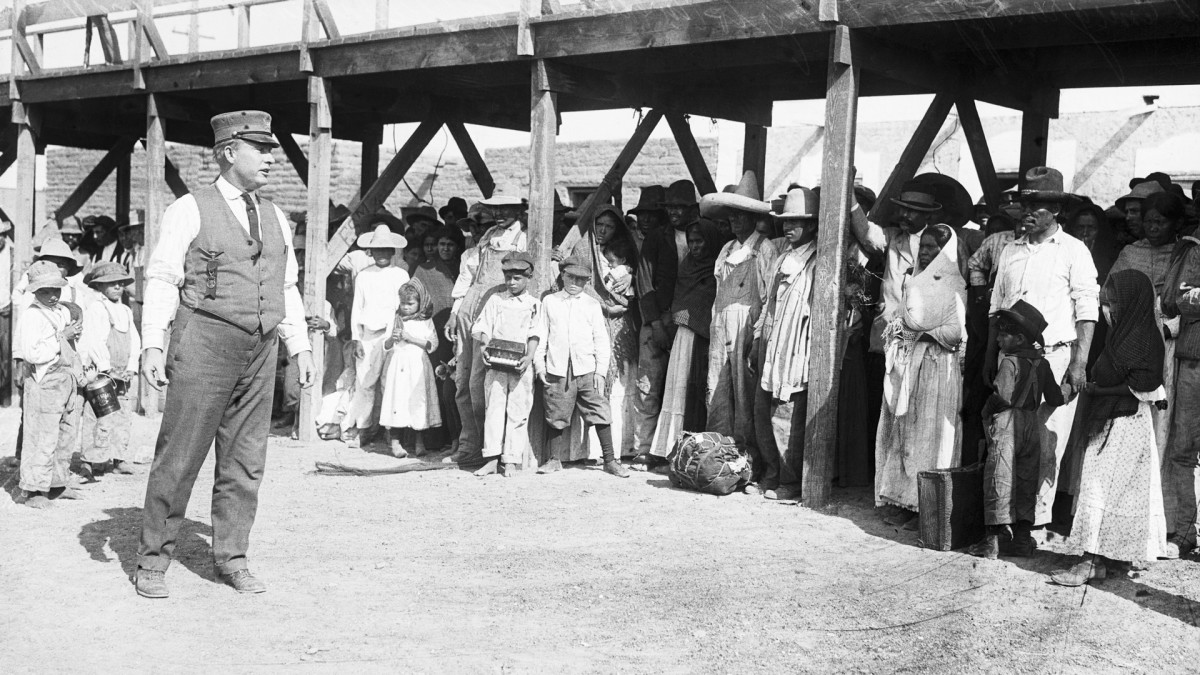 Mexican Revolution immigration