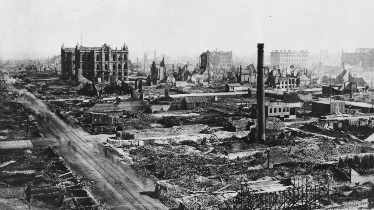 The Great Chicago Fire, 1871