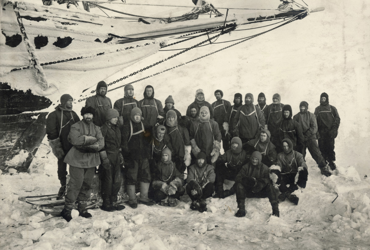 Endurance Crew, led by Ernest Shackleton