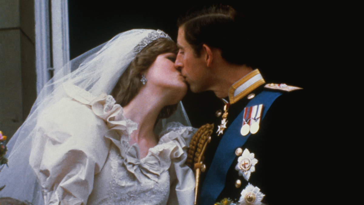 Prince Charles and Princess Diana Wedding, 1981