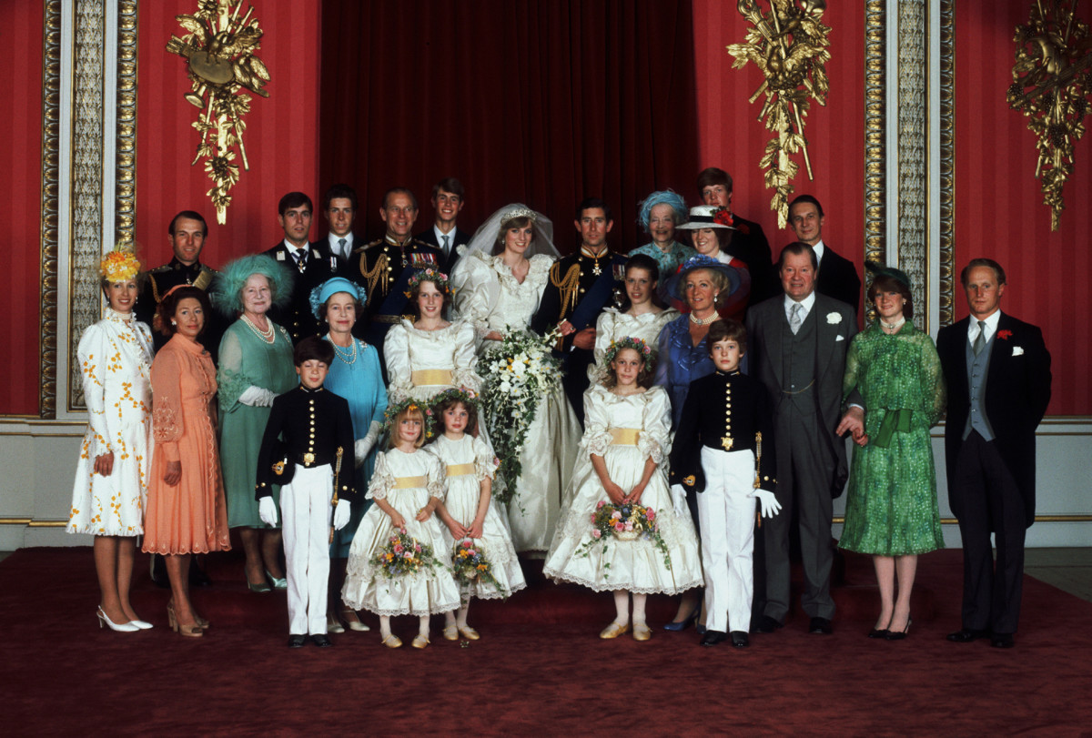 The Prince and Princess of Wales Wedding, Prince Charles and Princess Diana
