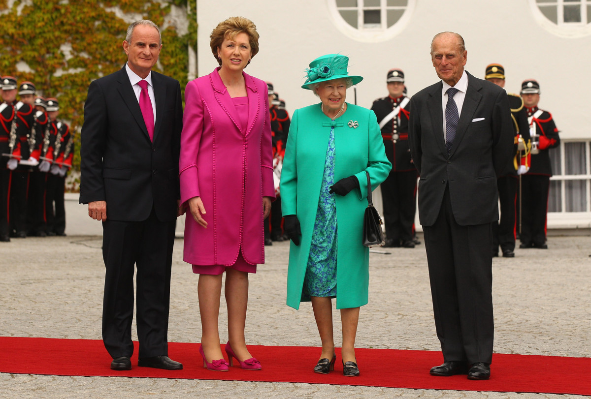 Queen Elizabeth II visits the Republic of Ireland, 2011