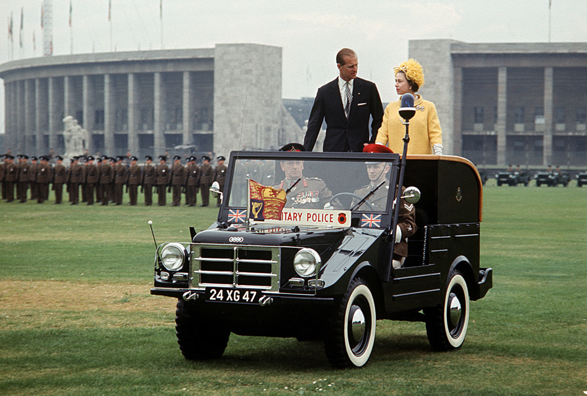 Queen Elizabeth II's visit to West Germany, 1965