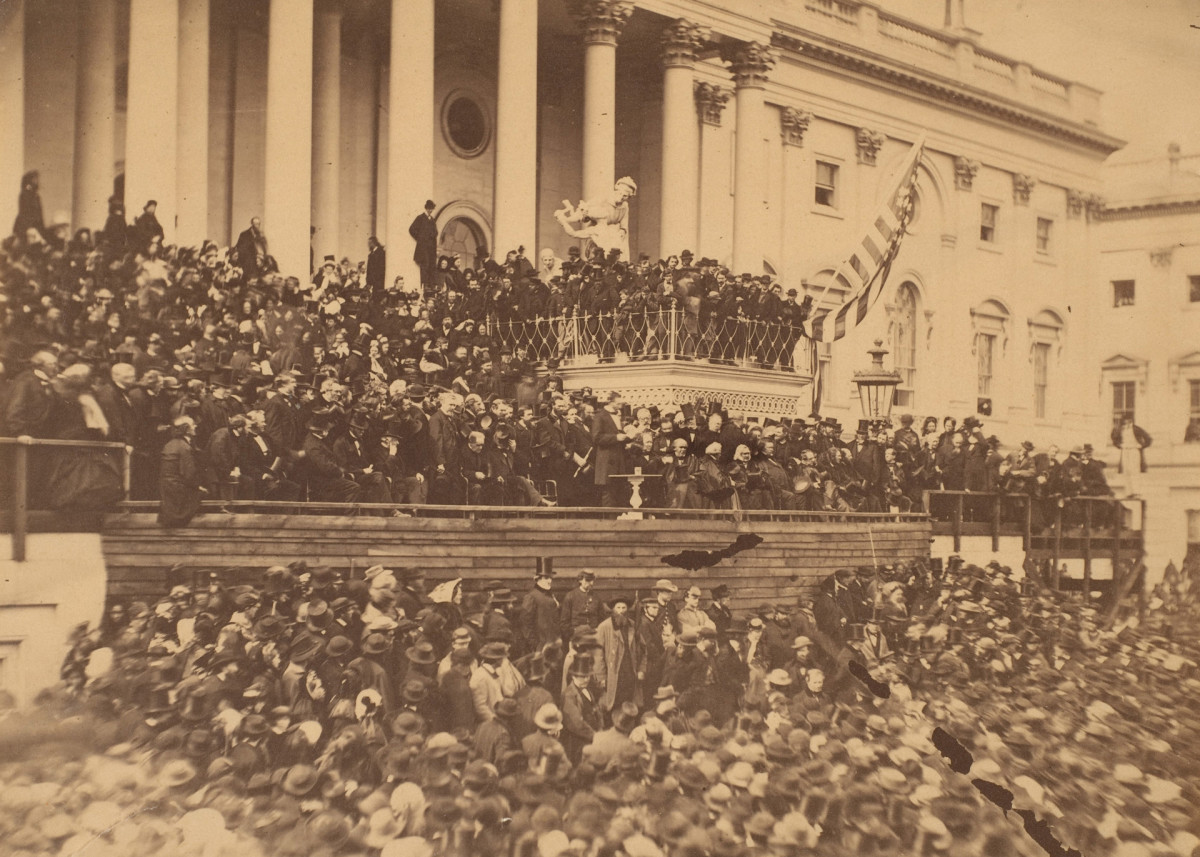 President Lincoln's Second Inauguration, 1865