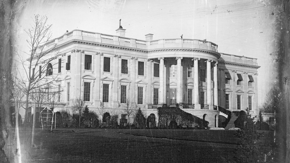 White House, Washington, D.C. 1840s