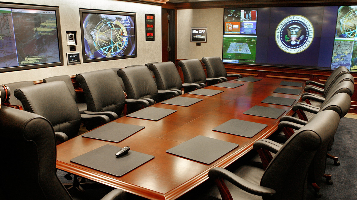 Situation Room, White House West Wing