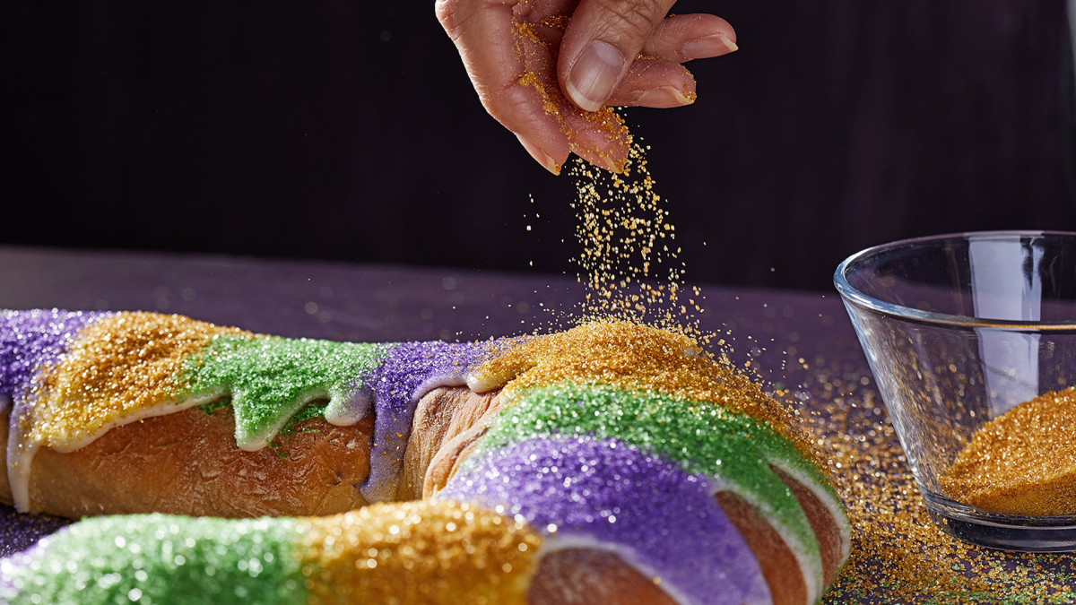 Lucky New Year's Food Traditions, King Cake