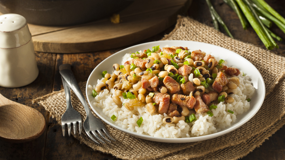 Lucky New Year's Food Traditions, Hoppin' John