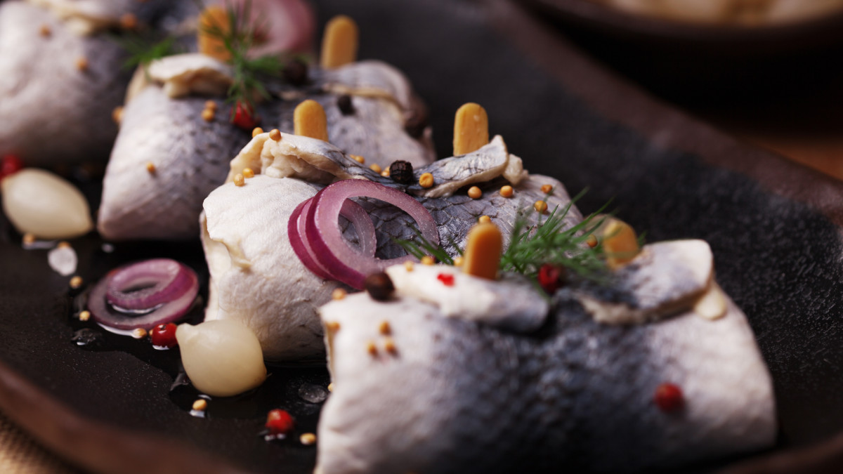 Lucky New Year's Food Traditions, Pickled Herring