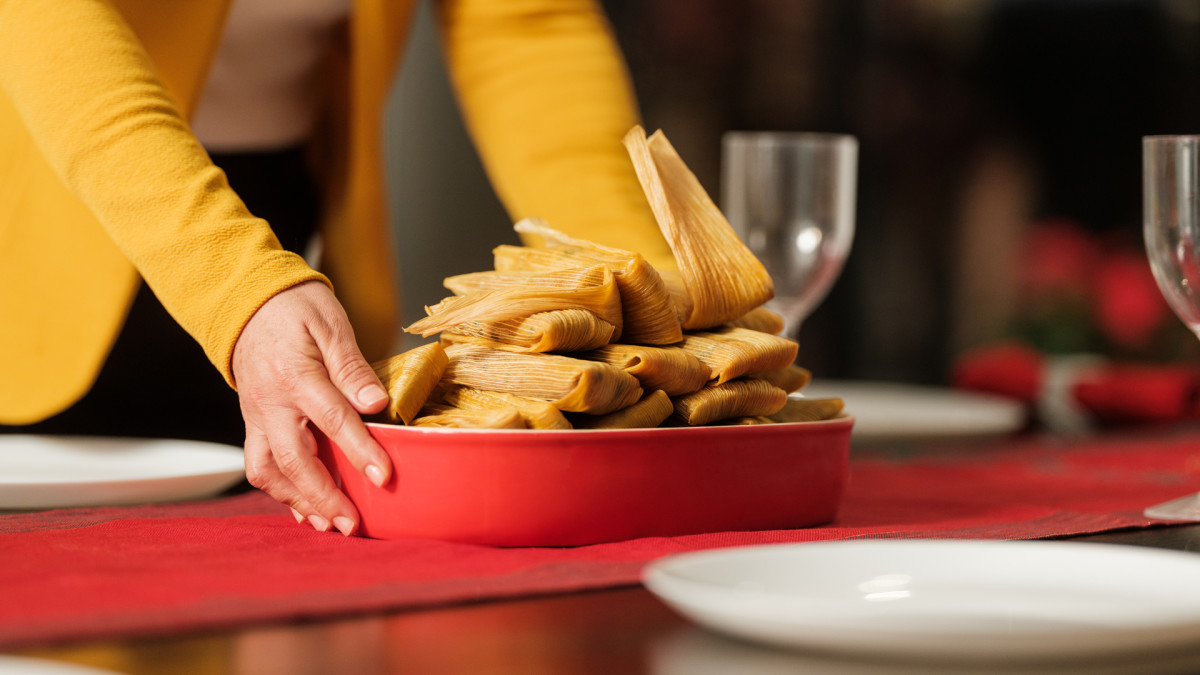 Lucky New Year's Food Traditions, Tamales