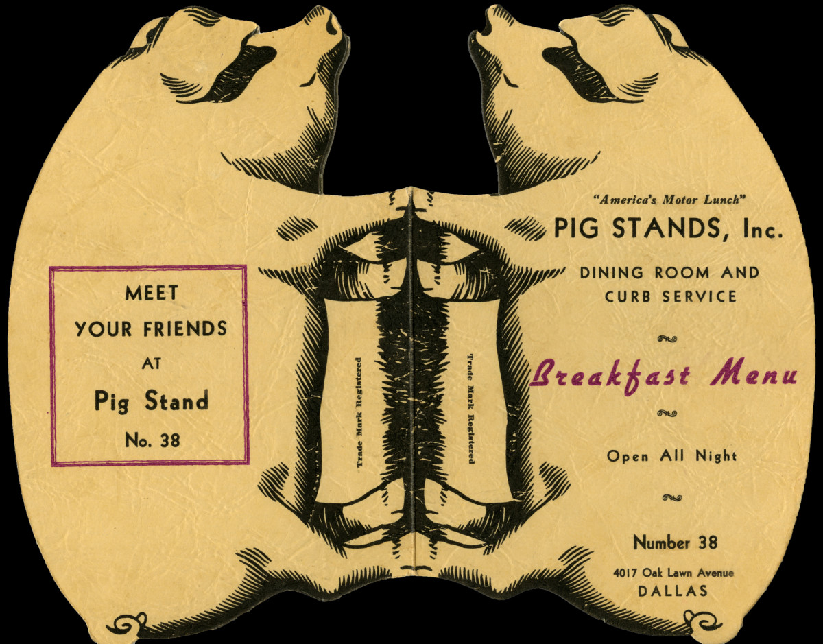 Pig Stands, Inc. Dining Room And Curb Service