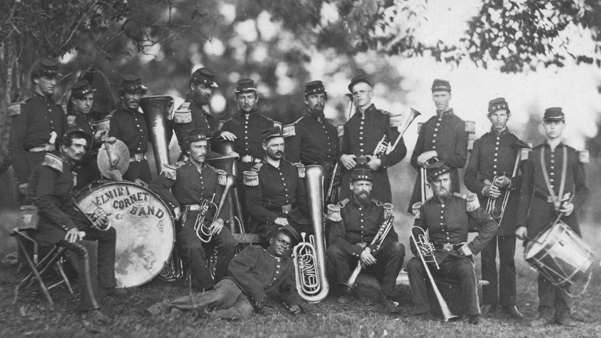 Elmira Cornet Band, 33rd Regiment of the New York State Volunteers.