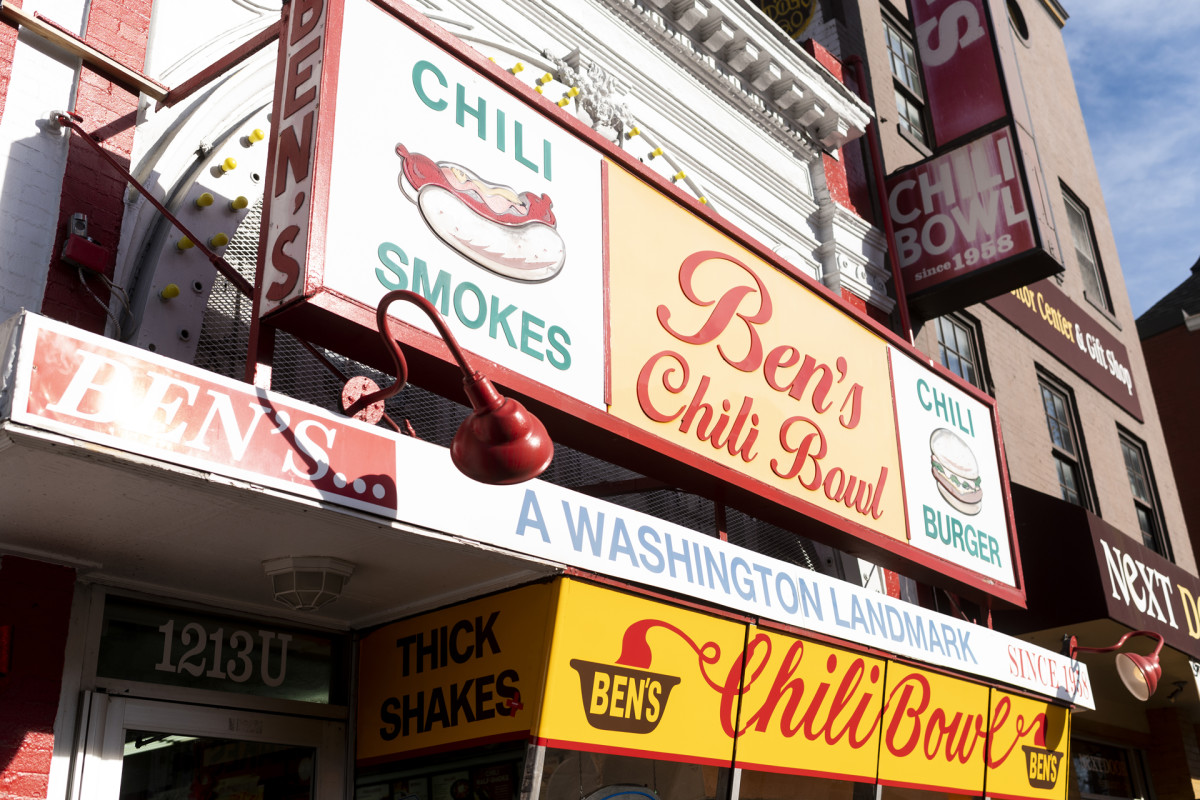 Ben's Chili Bowl, Washington, D.C., America's Most Historic Restaurants