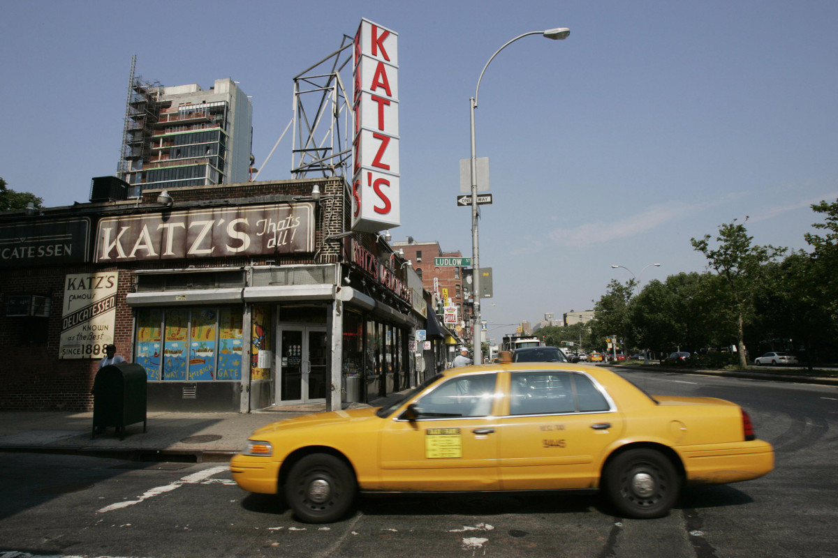 Katz's Delicatessen, New York City, America's Most Historic Restaurants