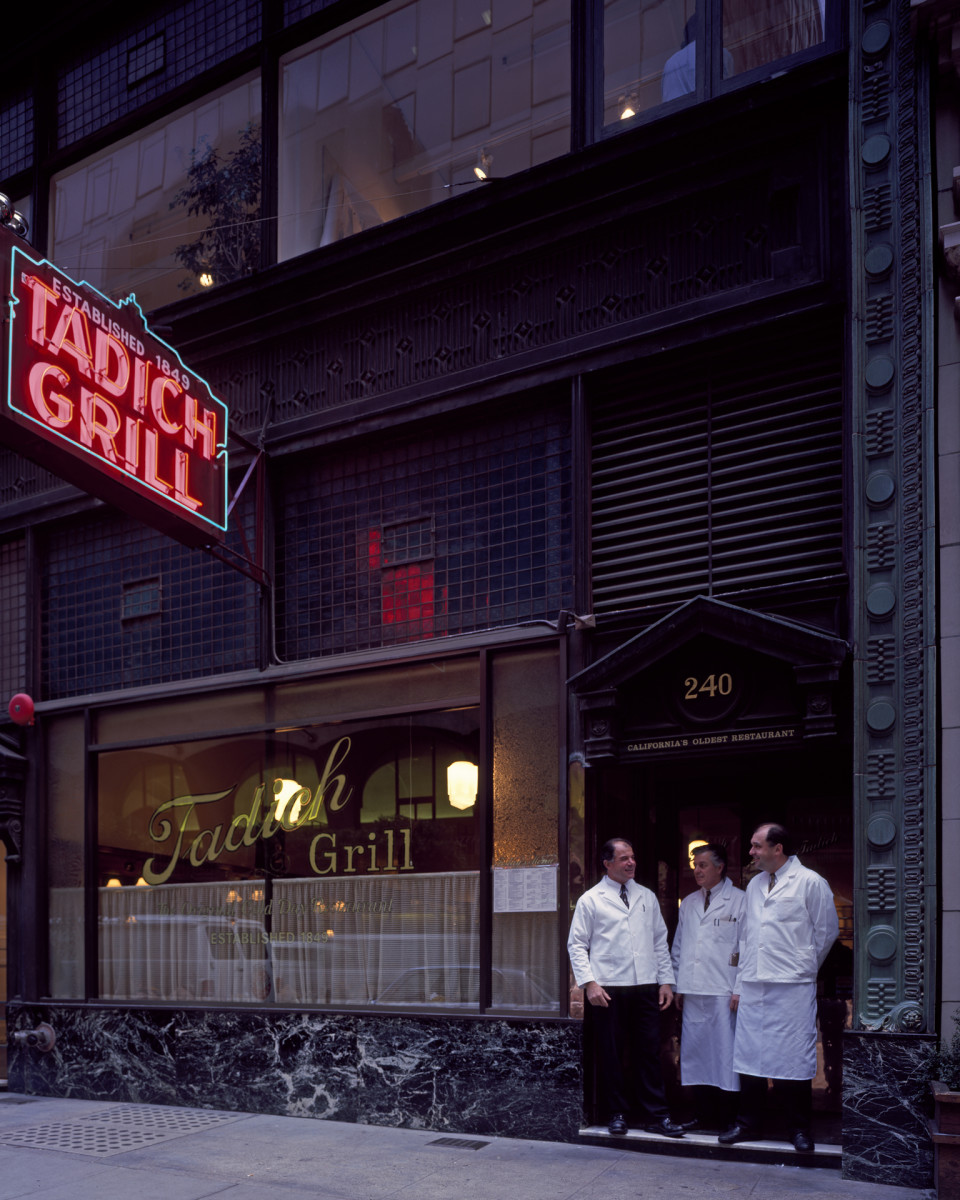 Tadich Grill, San Francisco, California, America's Most Historic Restaurants