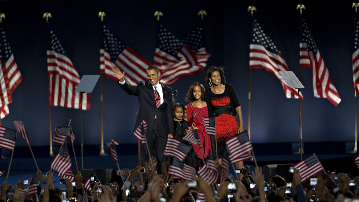 Barack Obama Elected First Black President, November 4, 2008