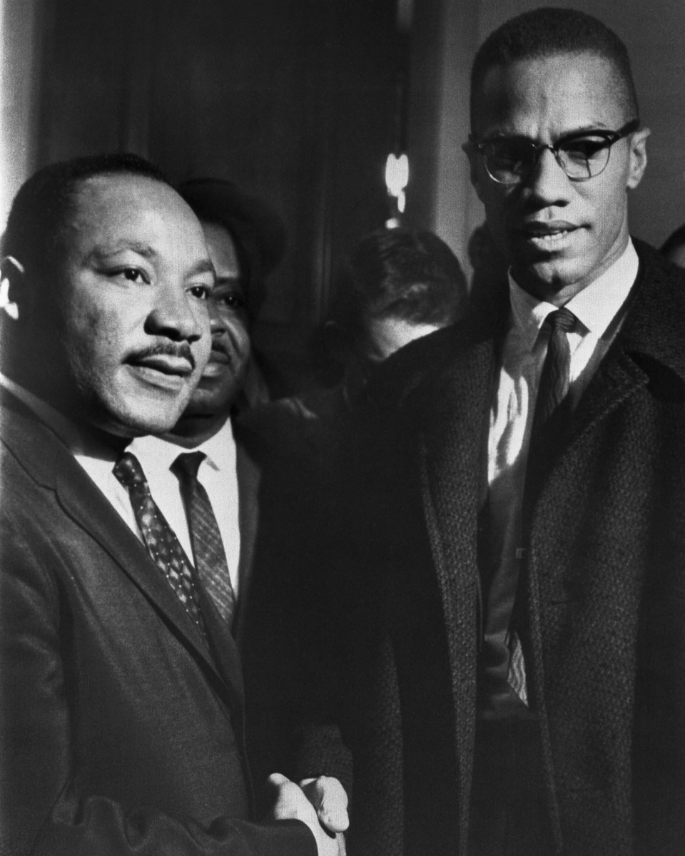 Martin Luther King, Jr. and Malcolm X