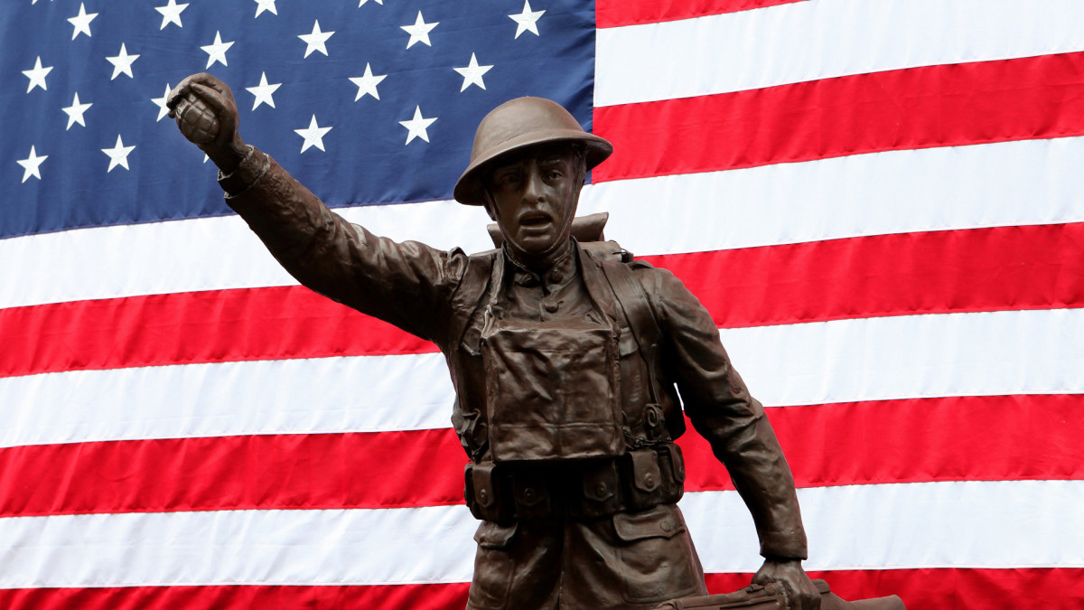 Spirit of the American Doughboy statue, WWI