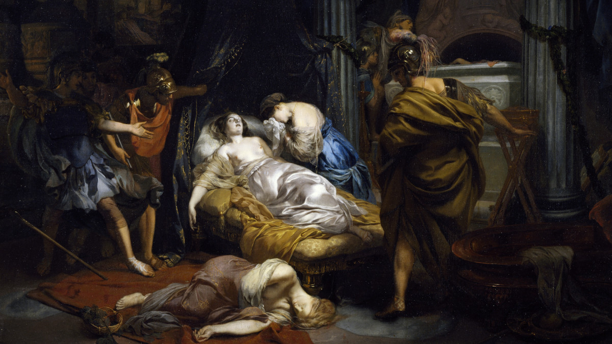 The Death of Cleopatra, by Gerard de Lairesse