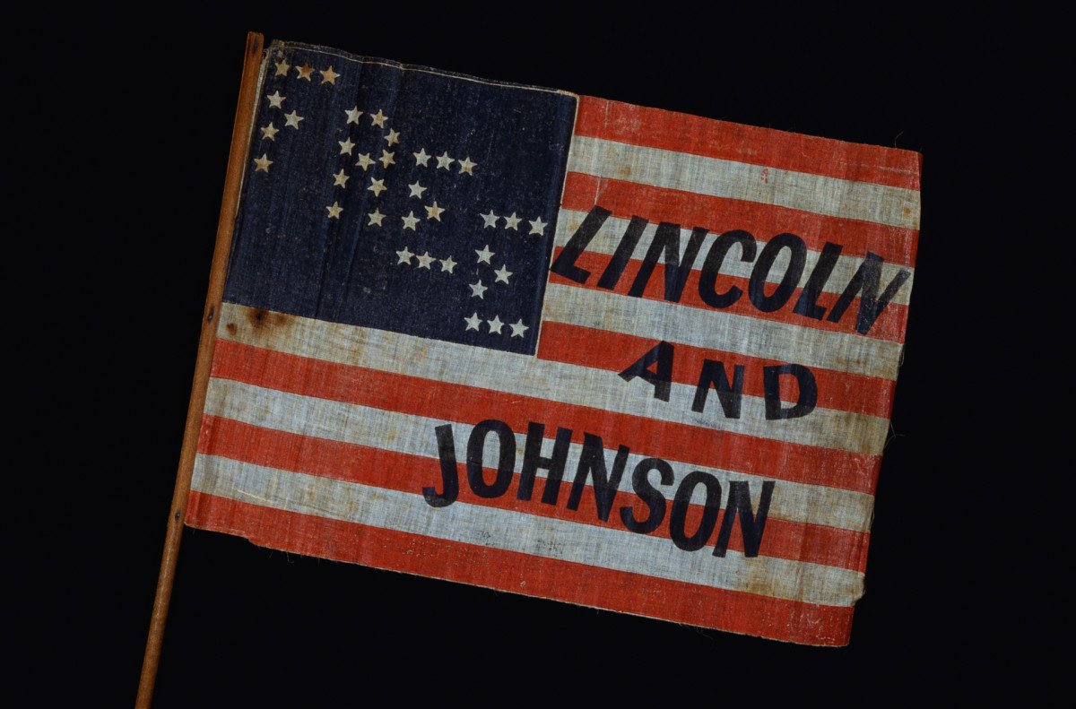 Lincoln and Johnson, 1864 Election