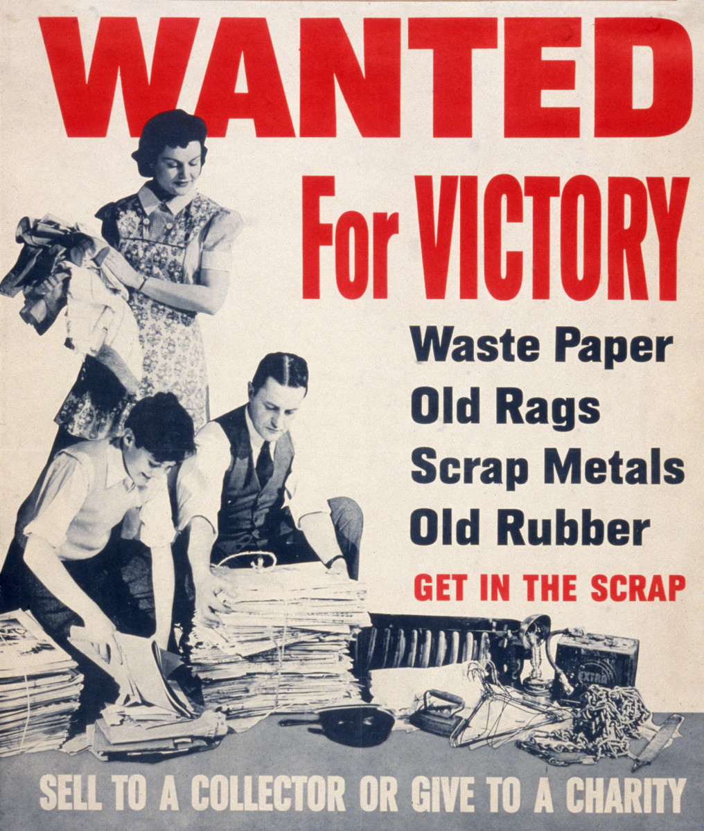 Recycling during WWII