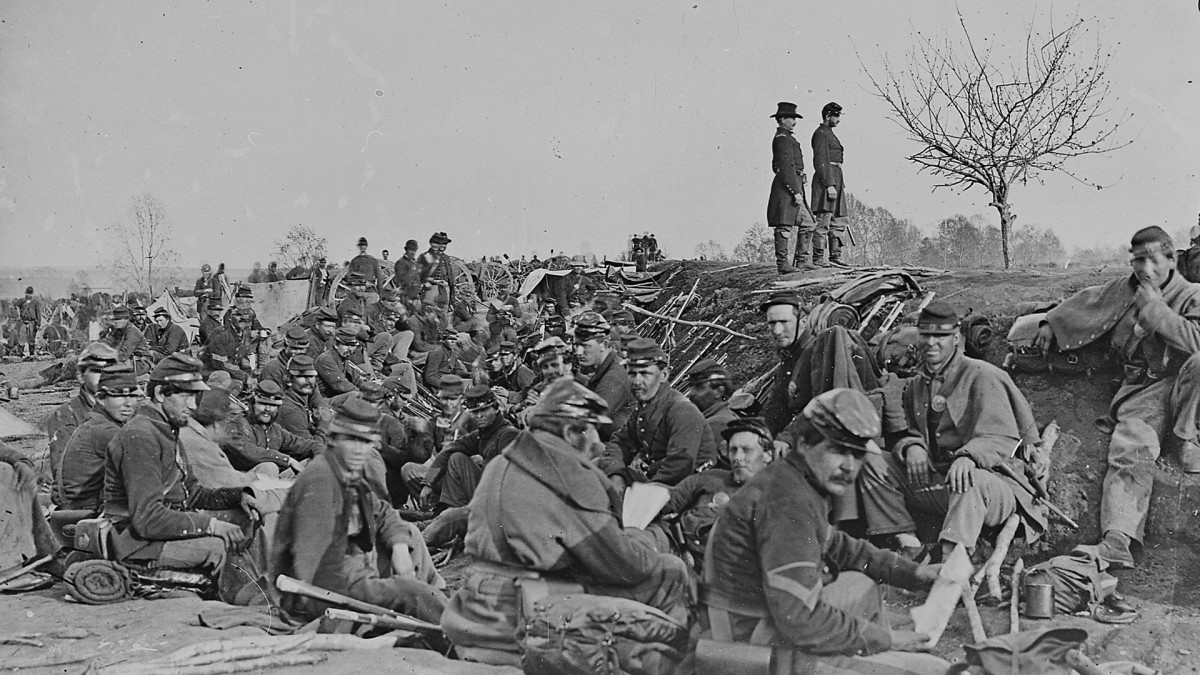 Civil War Trenches, Siege of Petersburg