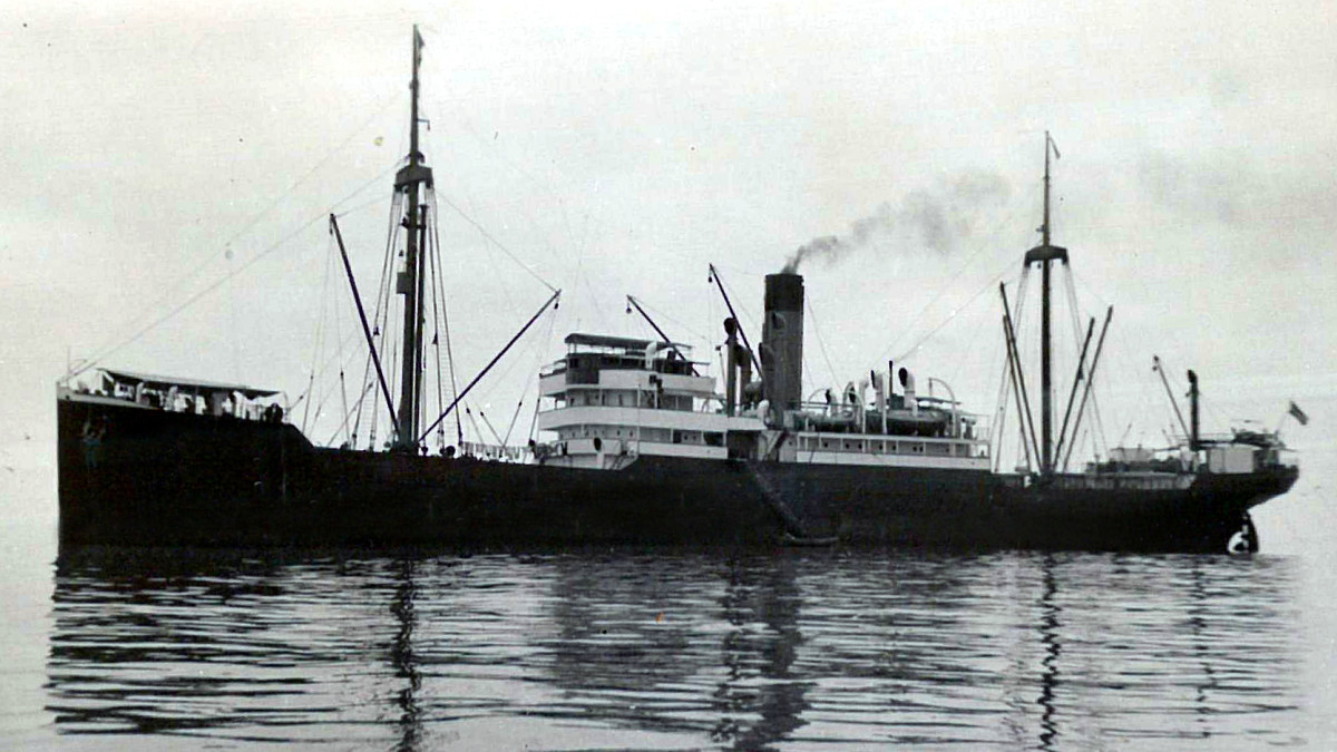 The sister ship of the S.S. Minden, the S.S. Porta, which it probably looked like.