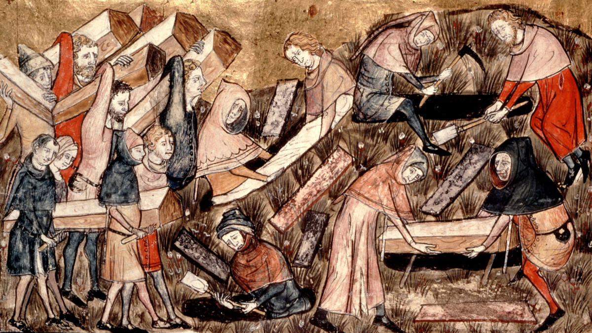 How the Black Death Spread Along the Silk Road