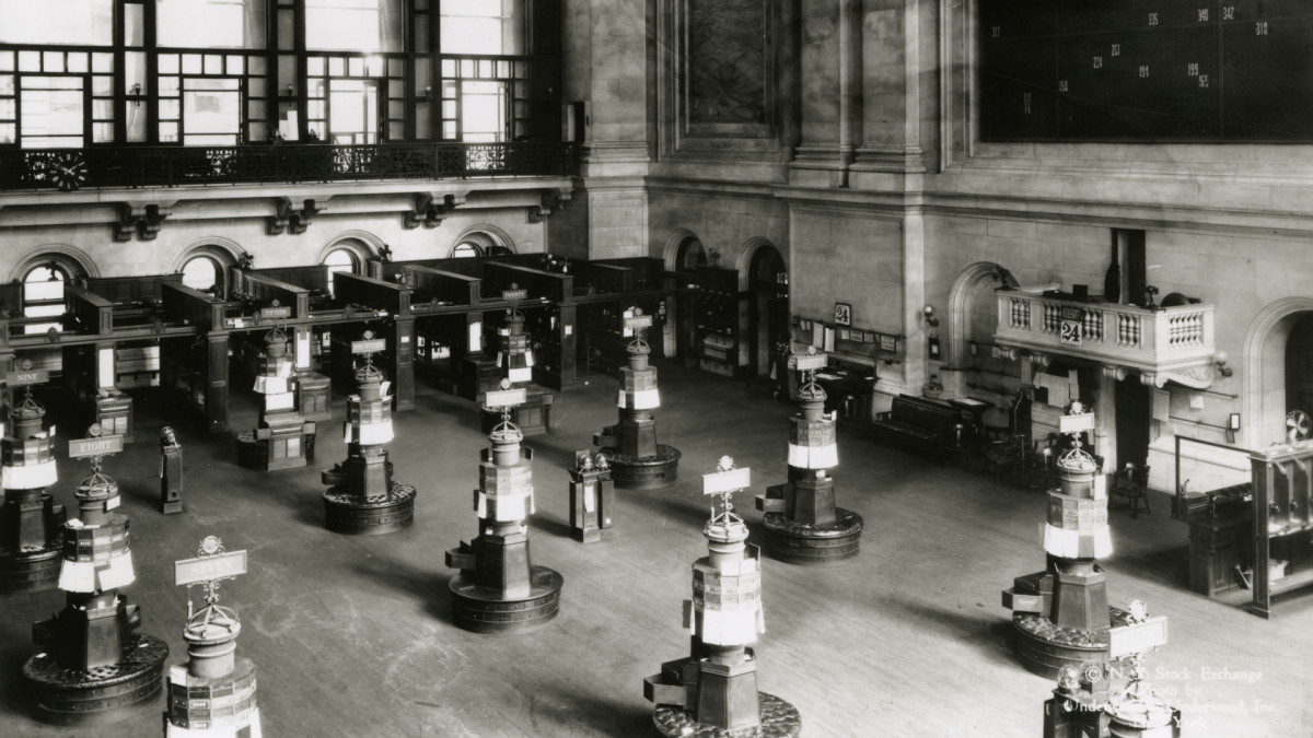 New York Stock Exchange, 1920