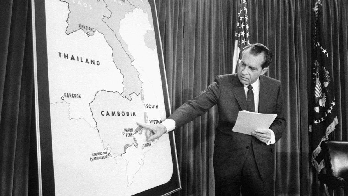 When Nixon Invaded Cambodia