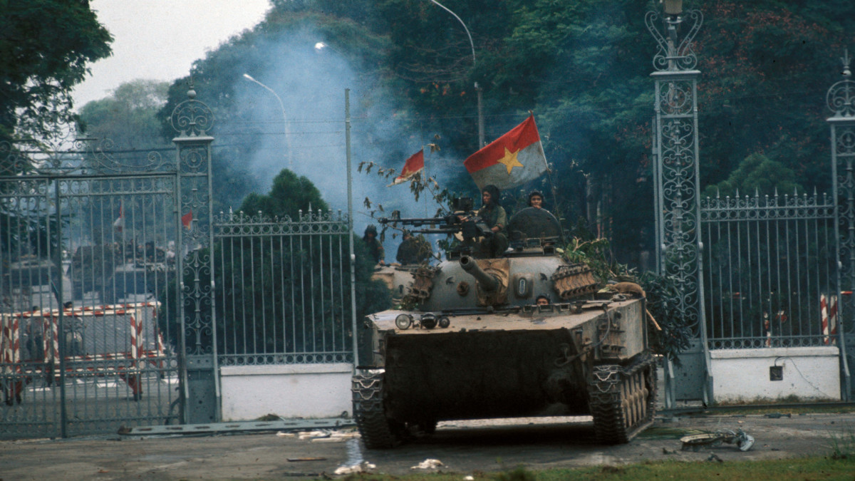 North-Vietnamese during the Fall of Saigon