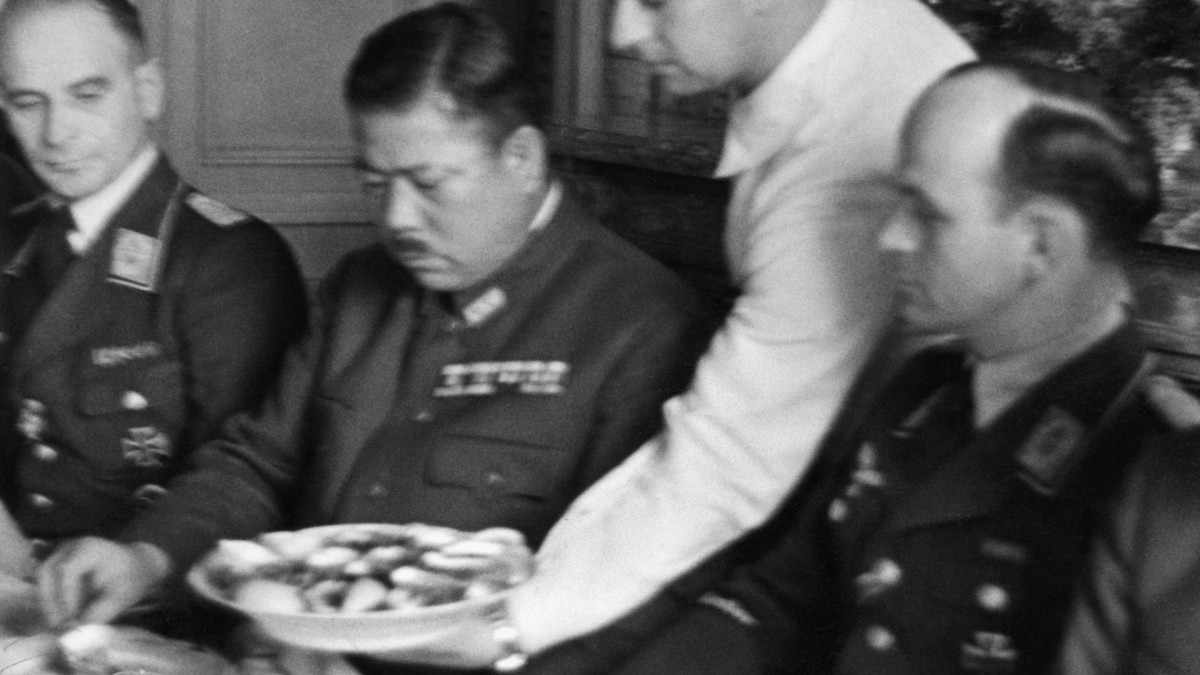 Why Hitler Secretly Met With a Japanese General During WWII