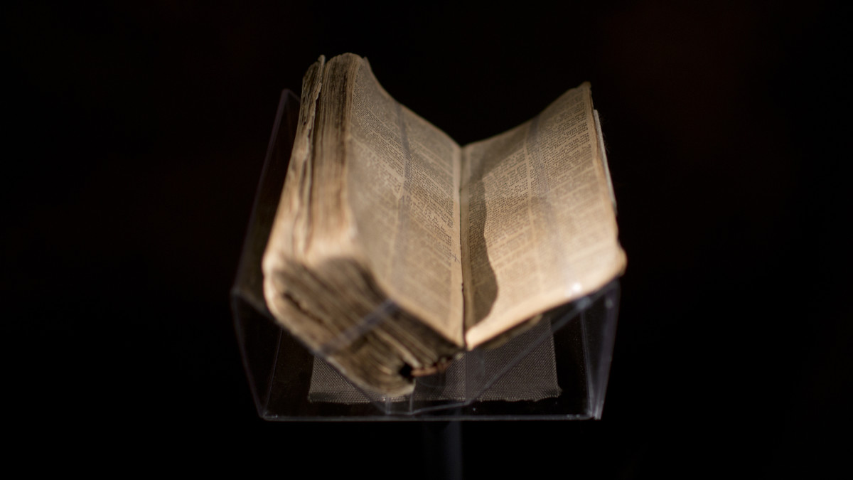 Nat Turners Bible, NMAAHC