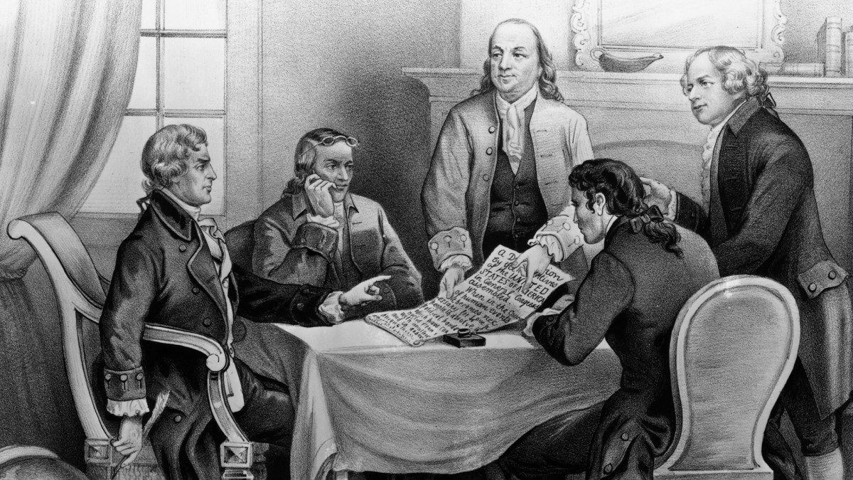 Committee drafting the Declaration of Independence