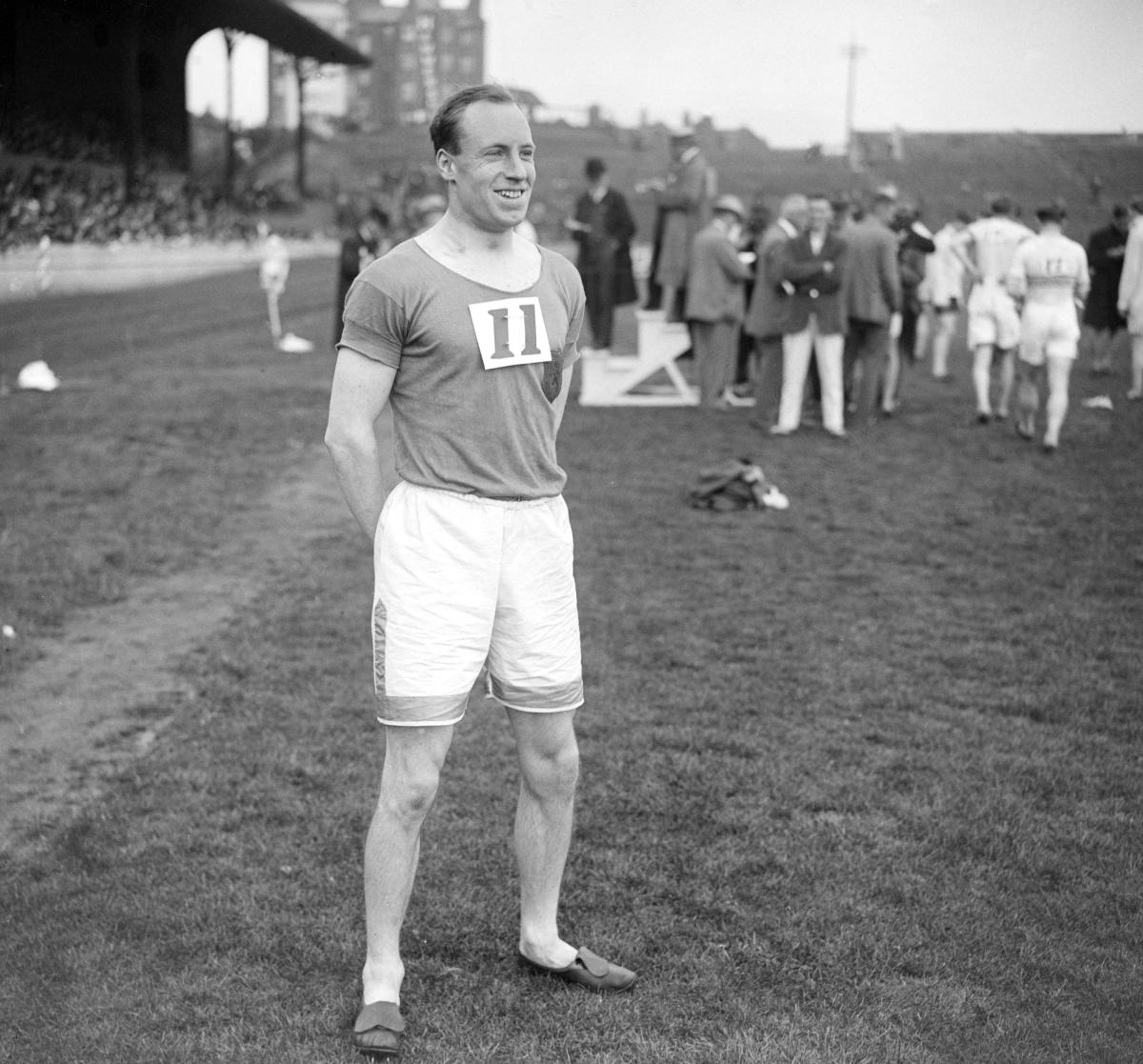 Eric Liddell, the Scottish missionary who won a gold medal in the 400 meters at the 1924 Summer Olympics in Paris.