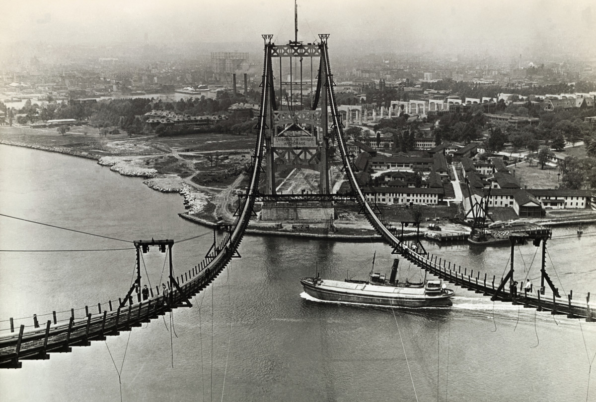 Triborough Bridge construction, New Deal infrastructure projects