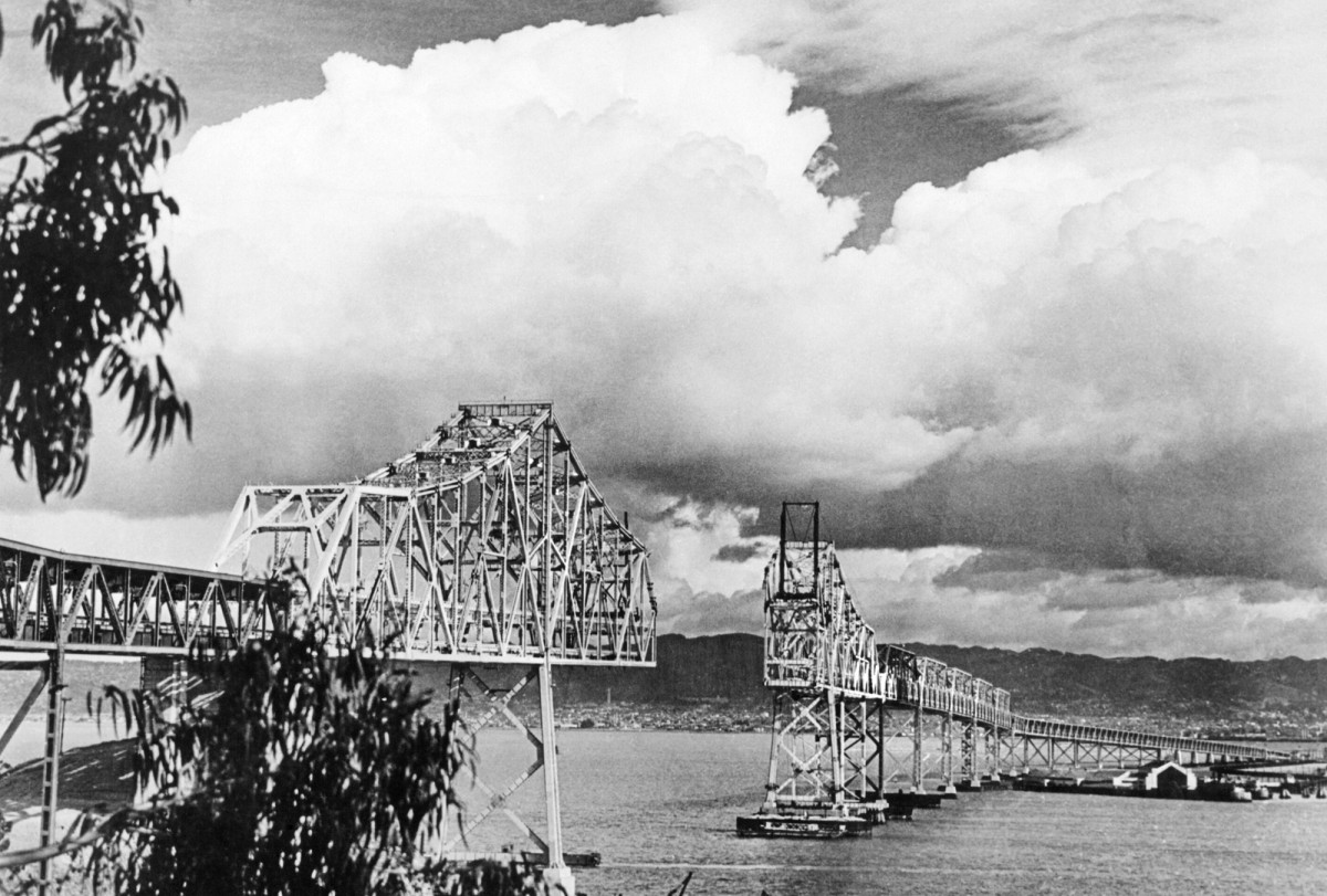 Bay Bridge construction, New Deal infrastructure projects