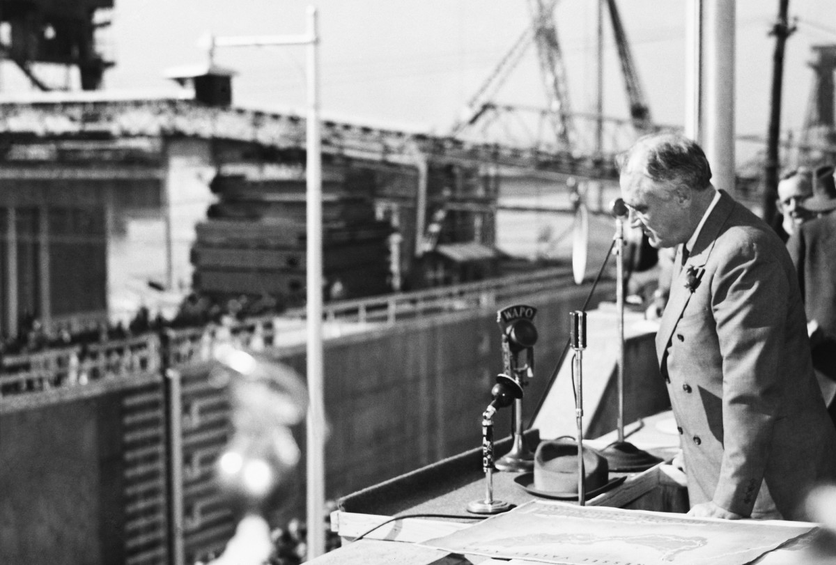 Chickamauga Dam construction, FDR New Deal Infrastructure Projects