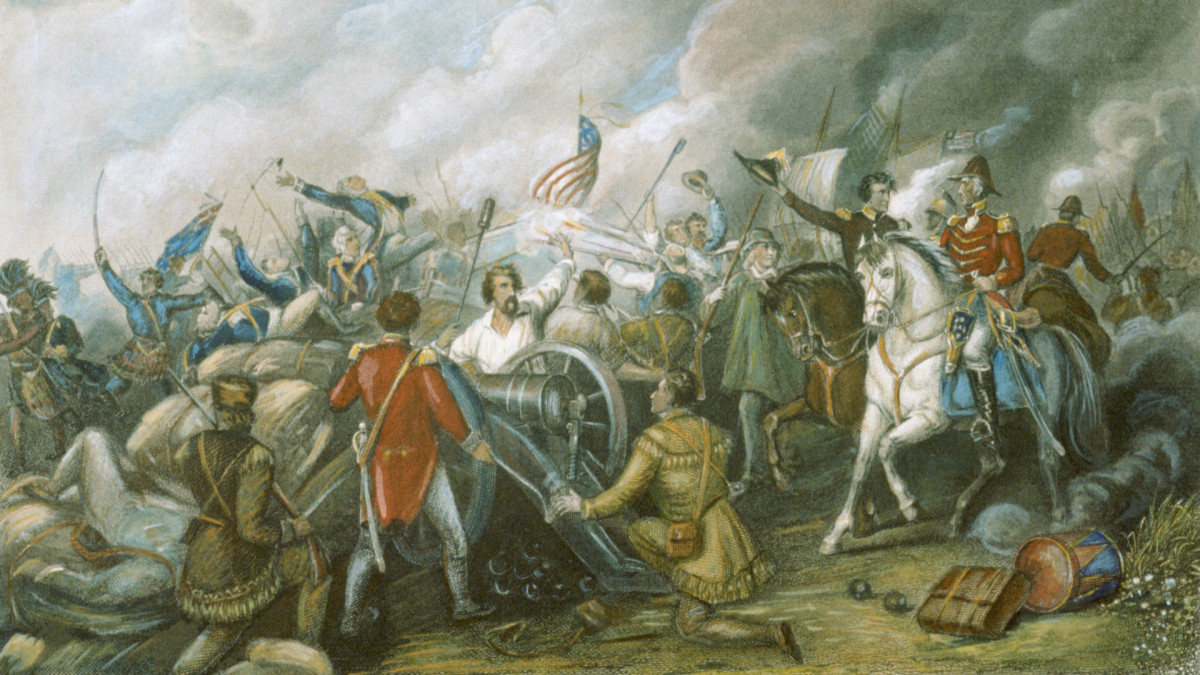 Battle of New Orleans, 1815