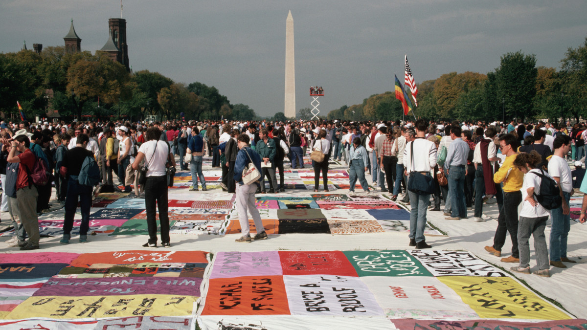 How the AIDS Quilt Allowed Thousands to Memorialize the Epidemic
