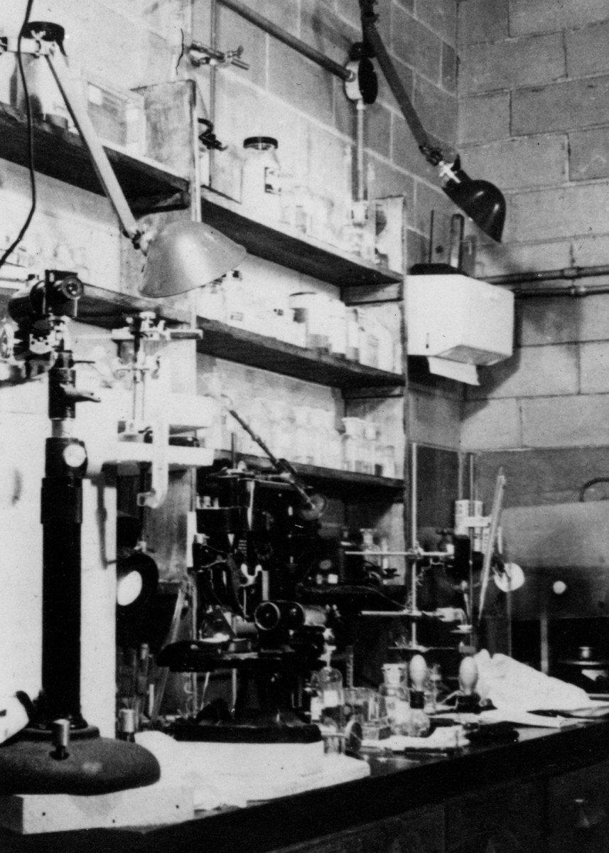 The Metallurgical Laboratory in Chicago, Illinois was the first lab set up for the study of pure plutonium. Photo taken in 1942.
