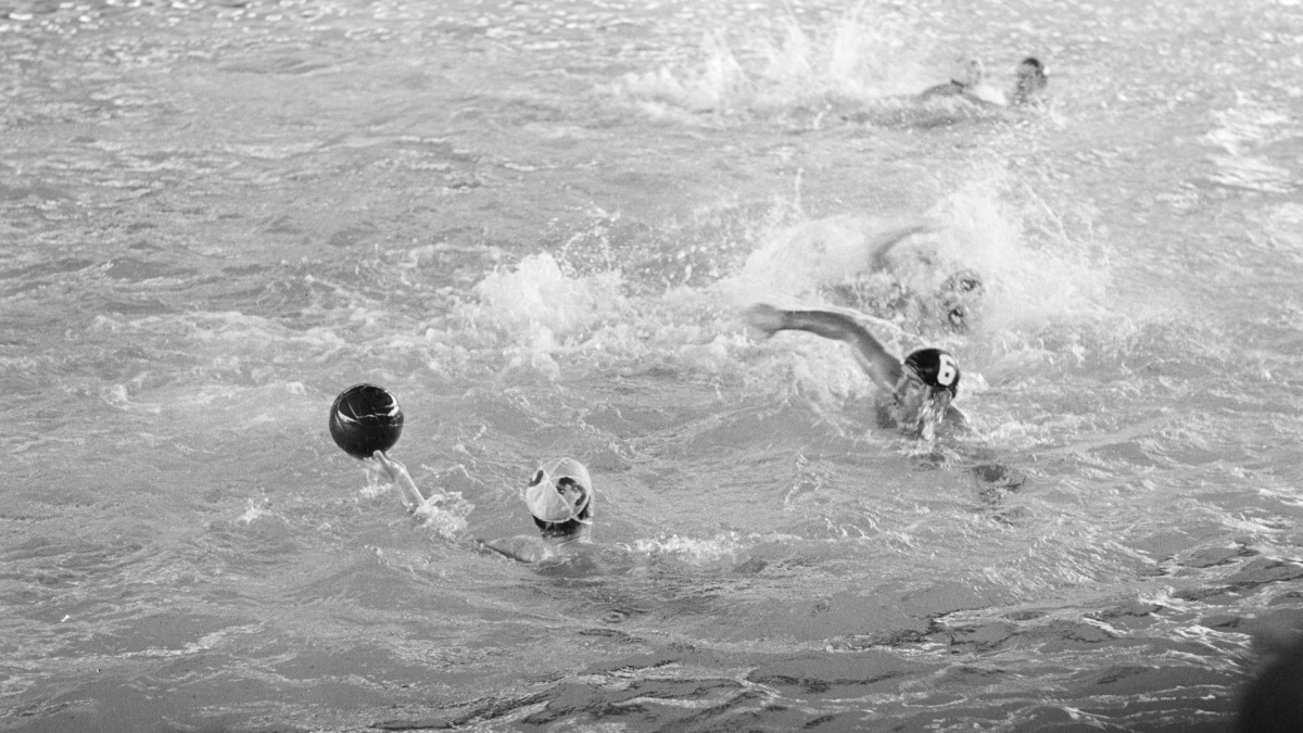 The water polo semifinal at the 1956 Olympic Games, playedbetween Hungary and Russia, (a.k.a. the 'Melbourne bloodbath,' reflected the political situation between the two countries, with insults and brutality on both sides.